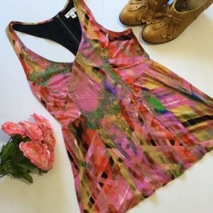 Anthropologie Silence + Noise Zippered Tank Top